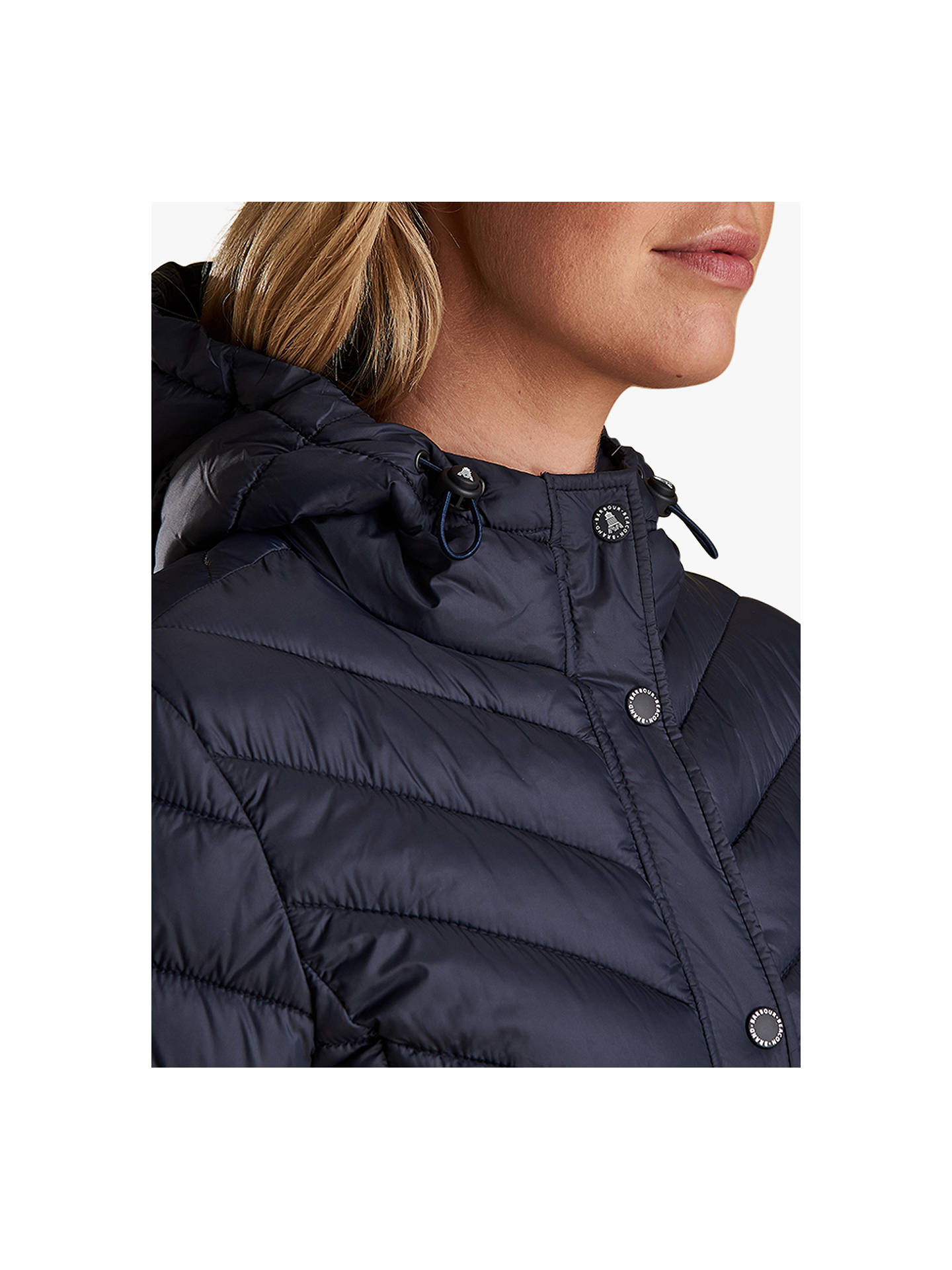 1ccabb679 Barbour Isobath Quilted Hooded Jacket at John Lewis & Partners