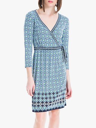 33caaf7c34 Max Studio Wrap Jersey Dress