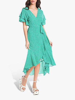 4e9e4ab3161261 Max Studio Spot Print Wrap Dress