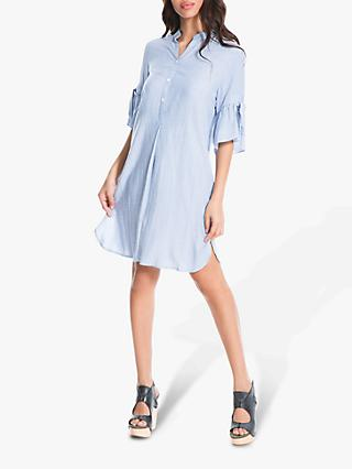 2aeb9293e66 Max Studio Half Stripe Shirt Dress