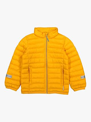 Polarn O. Pyret Children's Waterproof Puffer Jacket, Orange