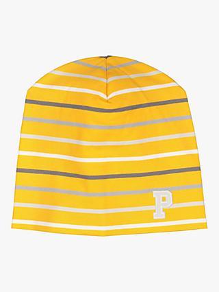 56ee66071b6 Polarn O. Pyret Baby Stripe Organic Cotton Beanie Hat
