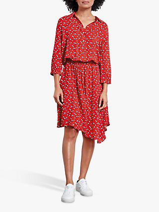 hush Donna Floral Shirt Dress, Mini Pansy