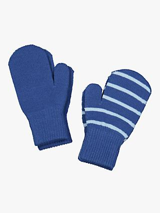 Polarn O. Pyret Children's Mittens, Blue