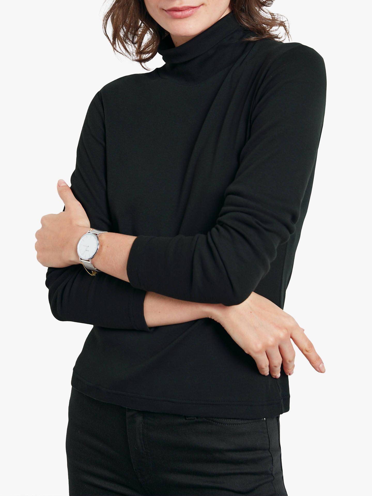 36fe2d47e1c Buy hush Long Sleeve Polo Neck T-Shirt