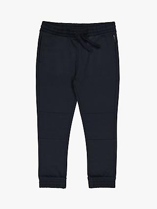 Polarn O. Pyret Children's Quilted Joggers, Navy