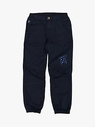 Polarn O. Pyret Children's Cargo Trousers, Blue