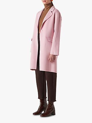 Whistles Nell Double Faced Wool Coat