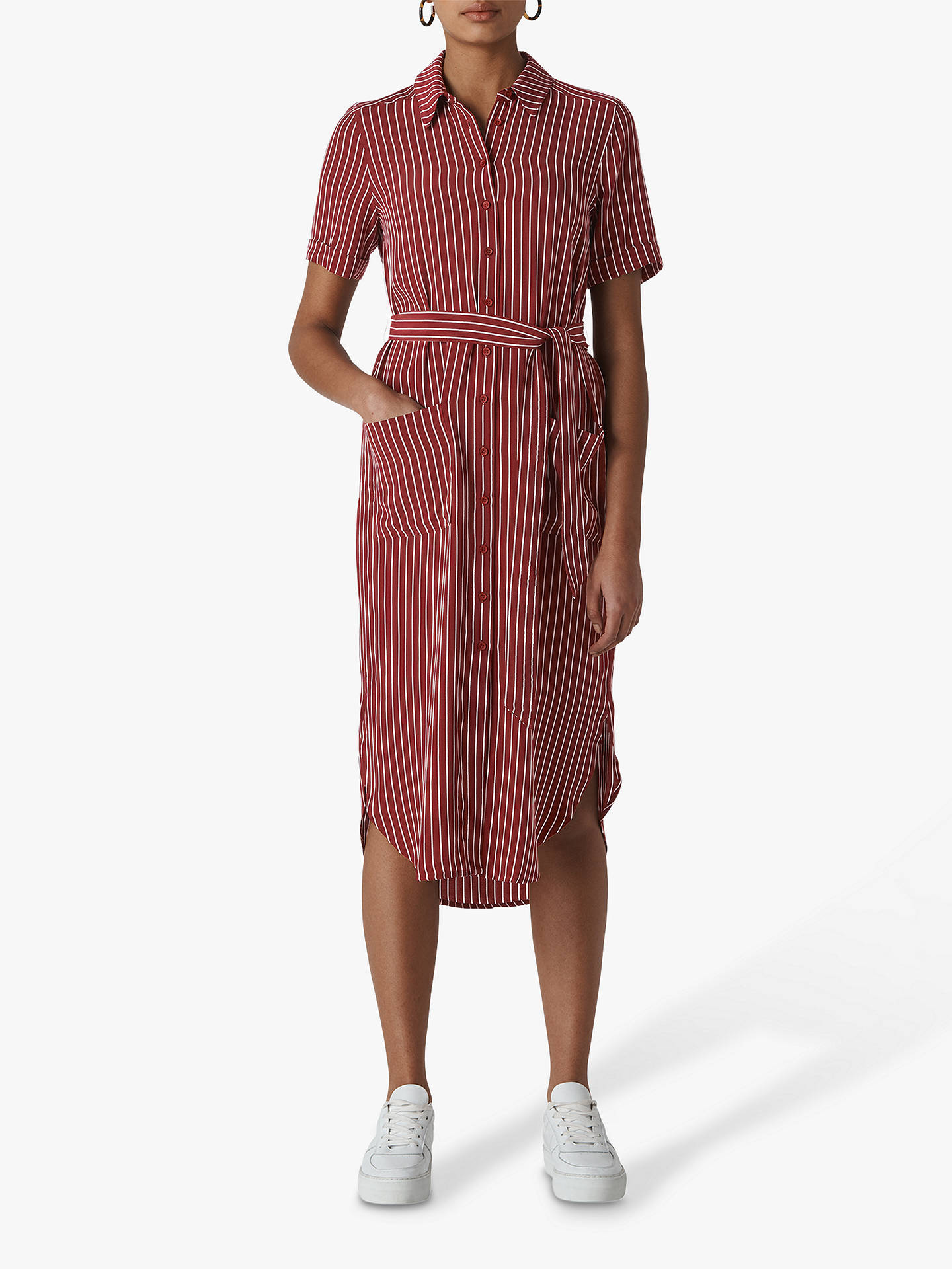 7b11cc45ec6 Buy Whistles Montana Shirt Dress