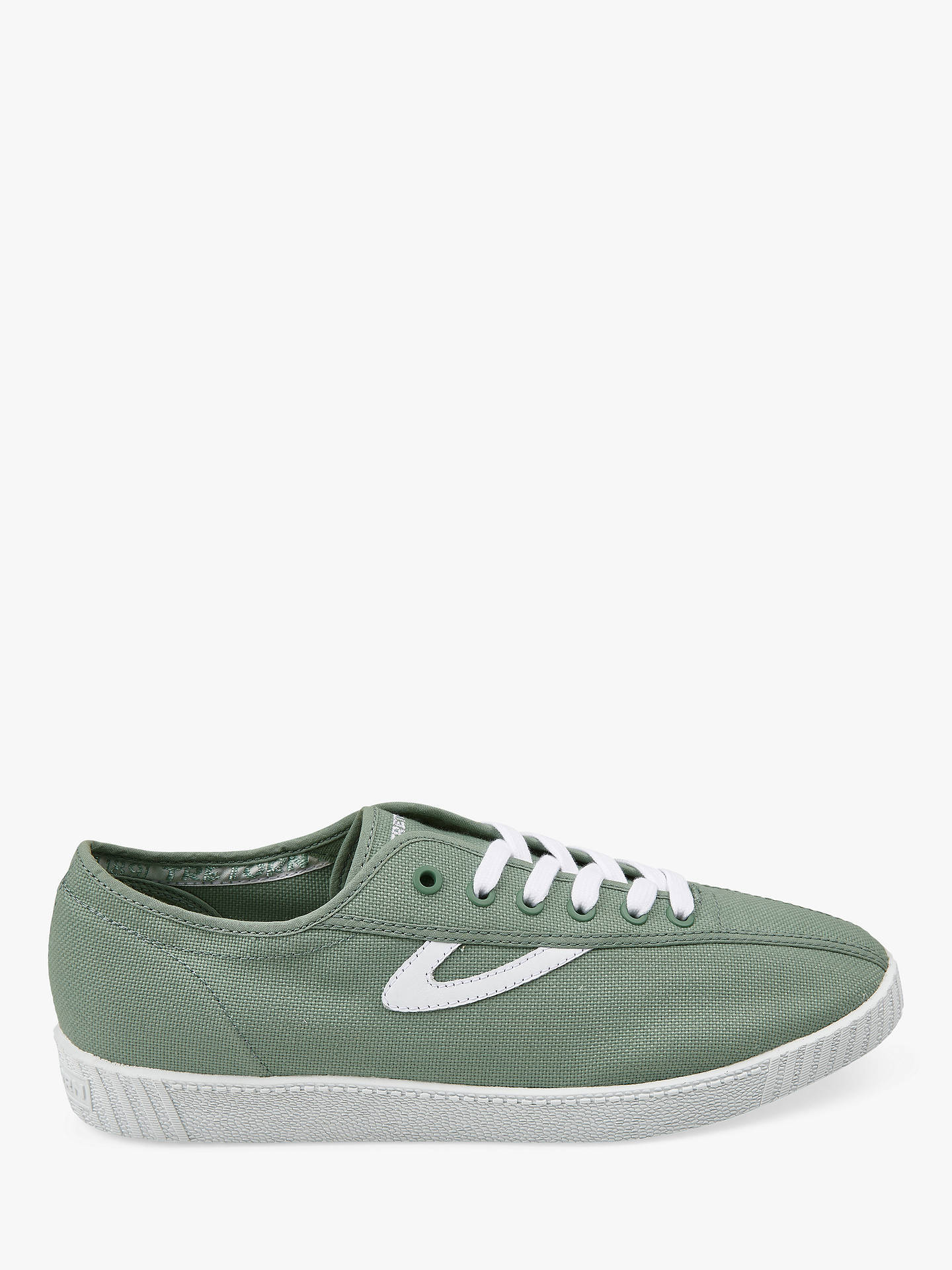 promo code 900f9 19706 Buy Tretorn Nylite Trainers, Seagrass White, 7 Online at johnlewis.com ...