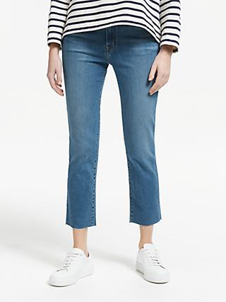 e8b58e0cff0 J Brand Ruby High Rise Straight Cropped Jeans