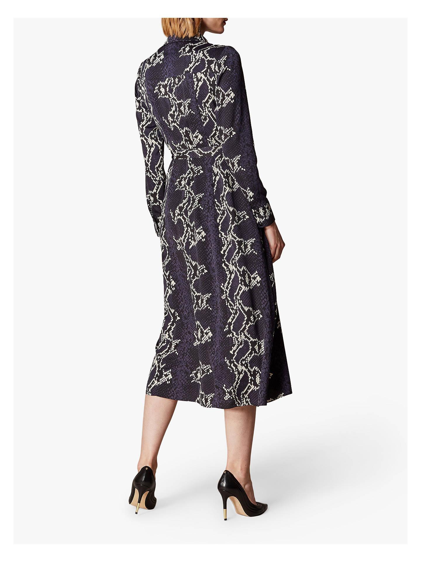 5d34e99813 ... BuyKaren Millen Snake Print Midi Shirt Dress