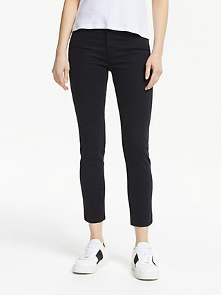 AG The Prima Crop Skinny Jeans, Super Black