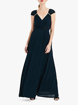 Phase Eight Larissa Slinky Dress, Teal