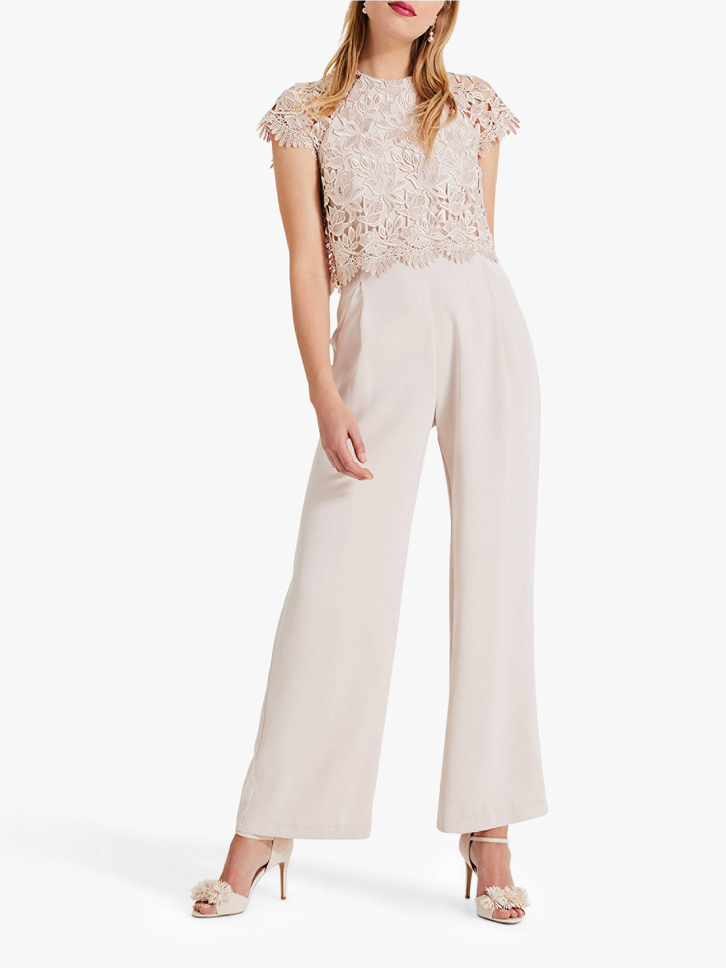 f8298fb6b03 Phase Eight Katy Lace Jumpsuit at John Lewis   Partners