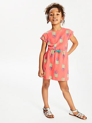 db97c6d99c John Lewis   Partners Girls  Pineapple Print Dress