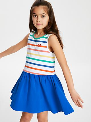 62aee8f871 John Lewis   Partners Girls  Stripe Dress