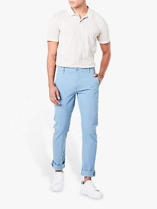Dockers Smart 360 Flex Alpha Skinny Chinos, Blue Shadow