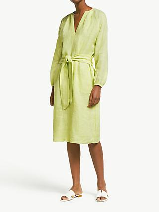 John Lewis & Partners Linen Smock Dress