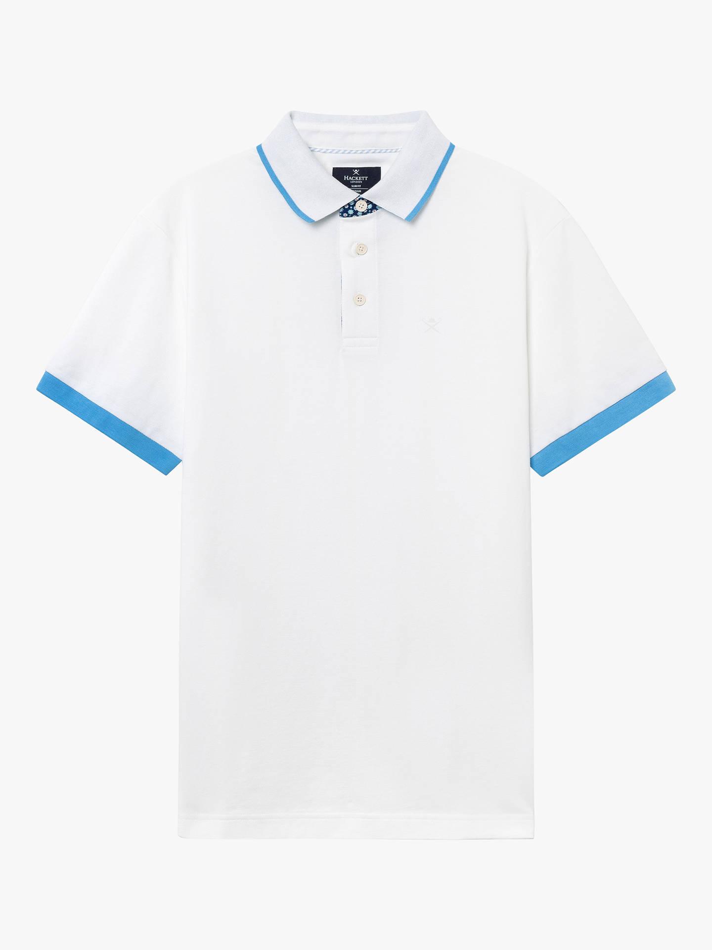 e96909491356 Buy Hackett London Geo Trim Polo Shirt