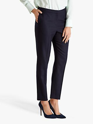 Fenn Wright Manson Madeline Slim Fit Trousers, Navy