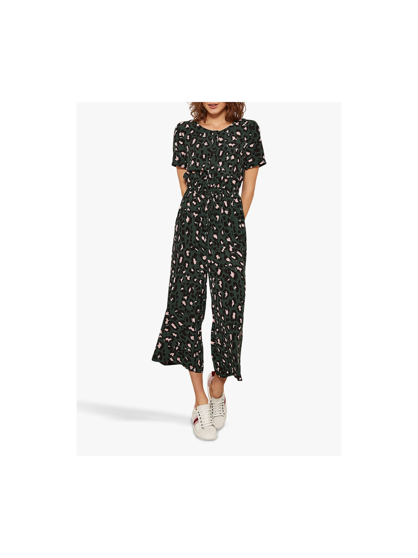 d32ff21f699 Buy Mint Velvet Stephanie Animal Print Jumpsuit