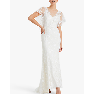 Phase Eight Layla Wedding Dress, Pale Cream