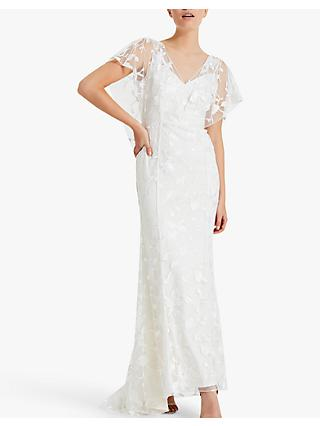 Phase Eight Layla Wedding Dress, Pale Cream