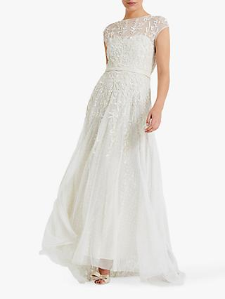Phase Eight Mylee Wedding Dress, Antique Cream