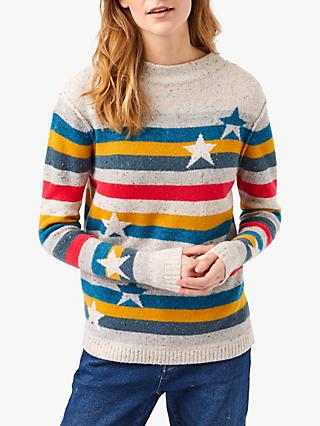 White Stuff Rainbows End Jumper, Multi
