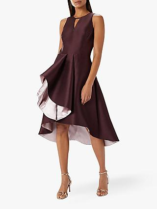 Coast Adella Full Midi Dress, Purple
