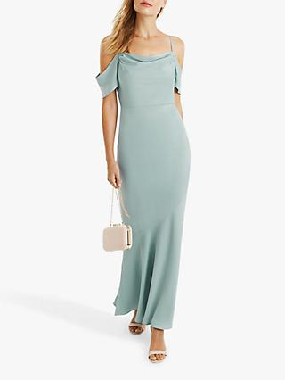 7e4a57adcf8 Oasis Amy Slinky Off Shoulder Slinky Maxi Dress