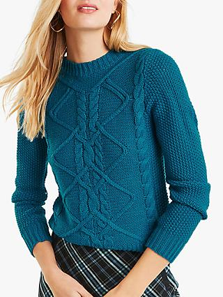 Oasis Nyla Cable Knit Jumper