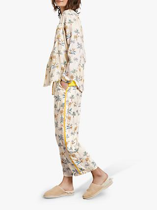 hush Piped Printed Culottes, Camel