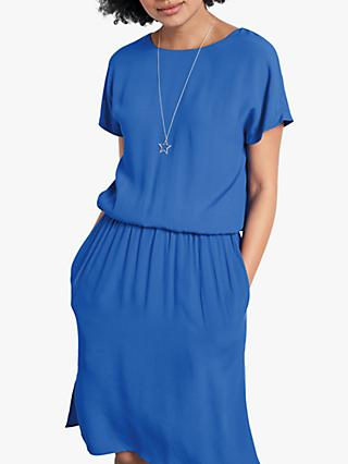 hush Vera V-Back Dress, French Blue