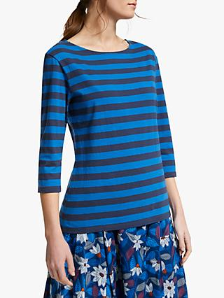 Seasalt Sailor Stripe 3/4 Length Sleeve Jersey Top