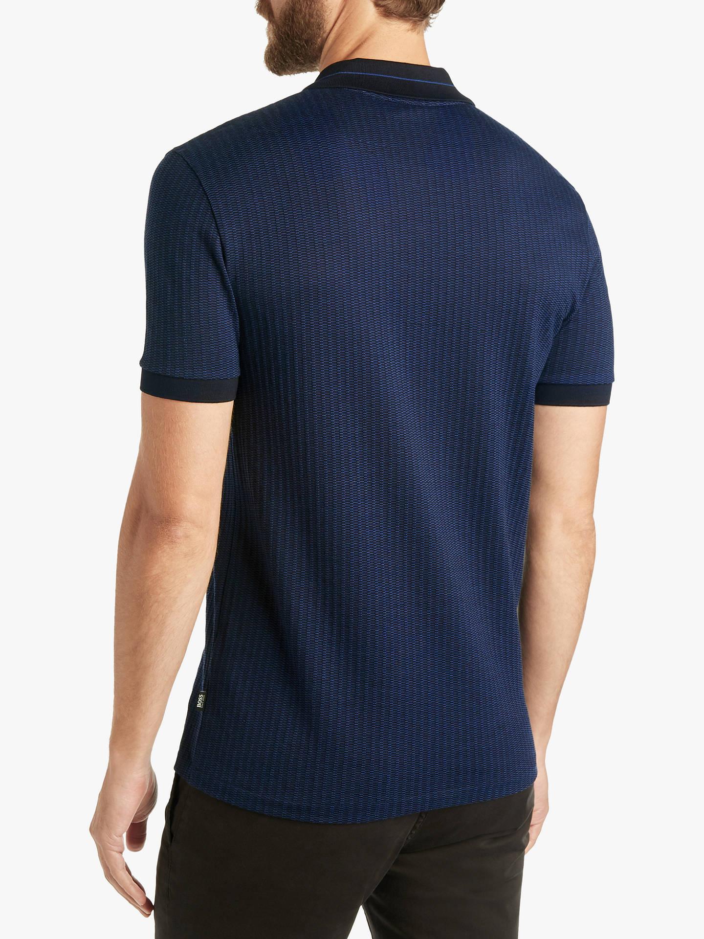 c919e47d2 Buy BOSS Phillipson Slim Fit Polo Shirt, Dark Blue, M Online at johnlewis.