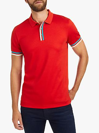 6be797fb5 BOSS Phillipson Slim Fit Polo Shirt, Bright Red