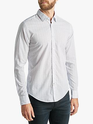 8e1a3dbb510 BOSS Ronni Abstract Print Slim Fit Shirt