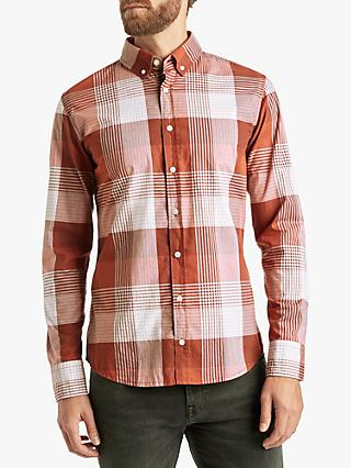 BOSS Mabsoot Long Sleeve Slim Fit Check Shirt dd29f9238a512