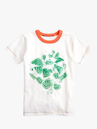 crewcuts by J.Crew Boys' Abstract Print T-Shirt, Mint Green/White