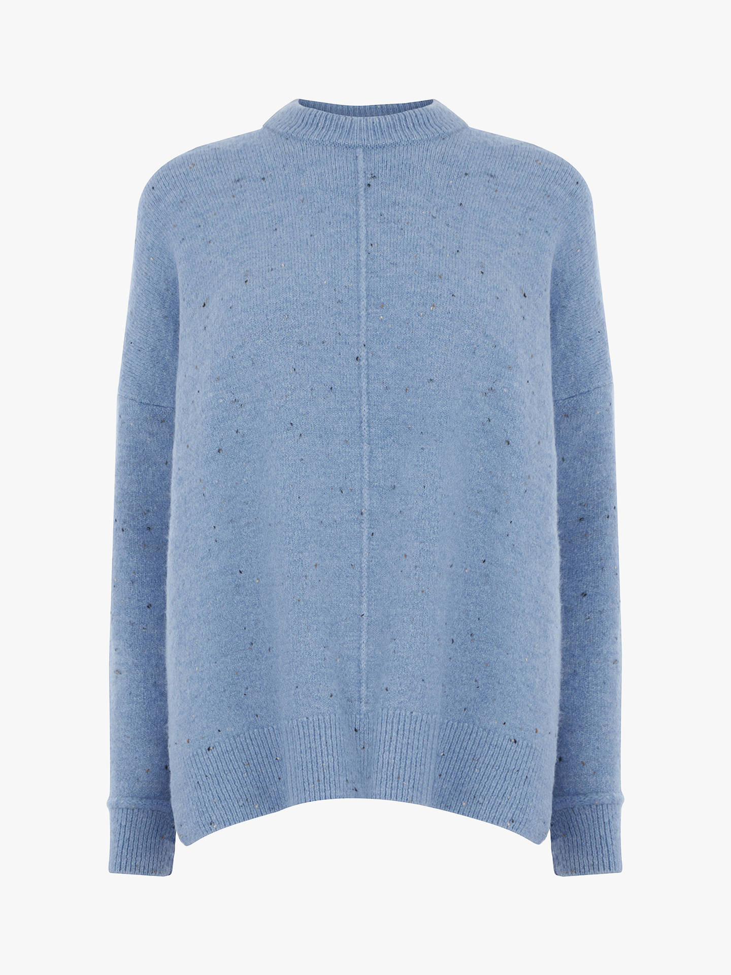 BuyWarehouse Neppy Cosy Jumper, Light Blue, 8 Online at johnlewis.com