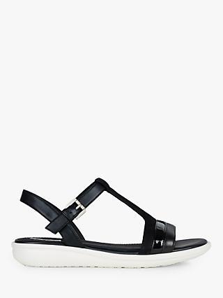 ca2ac817e683c Geox Women s Jearl Flat Sandals