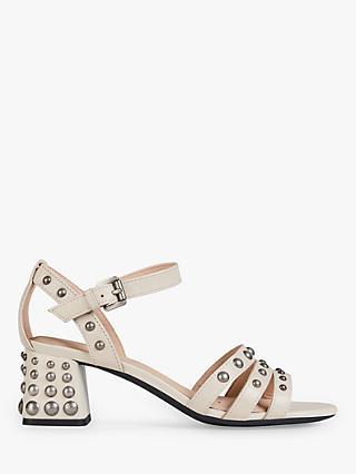 5838d31a3cb07 Geox Women s Seyla Studded Sandals