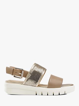 3c1400e99cb4 Geox D Wimbley Double Strap Sandals