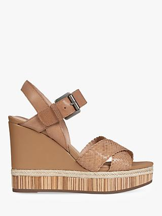 347b578d53cdc3 Geox Women s Yulimar Wedge Heeled Sandals