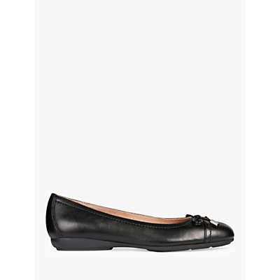 geox women's annytah pumps, black leather