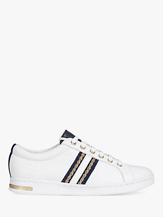 bb754a28d8a8 Geox Women s Jaysen Striped Lace Up Trainers