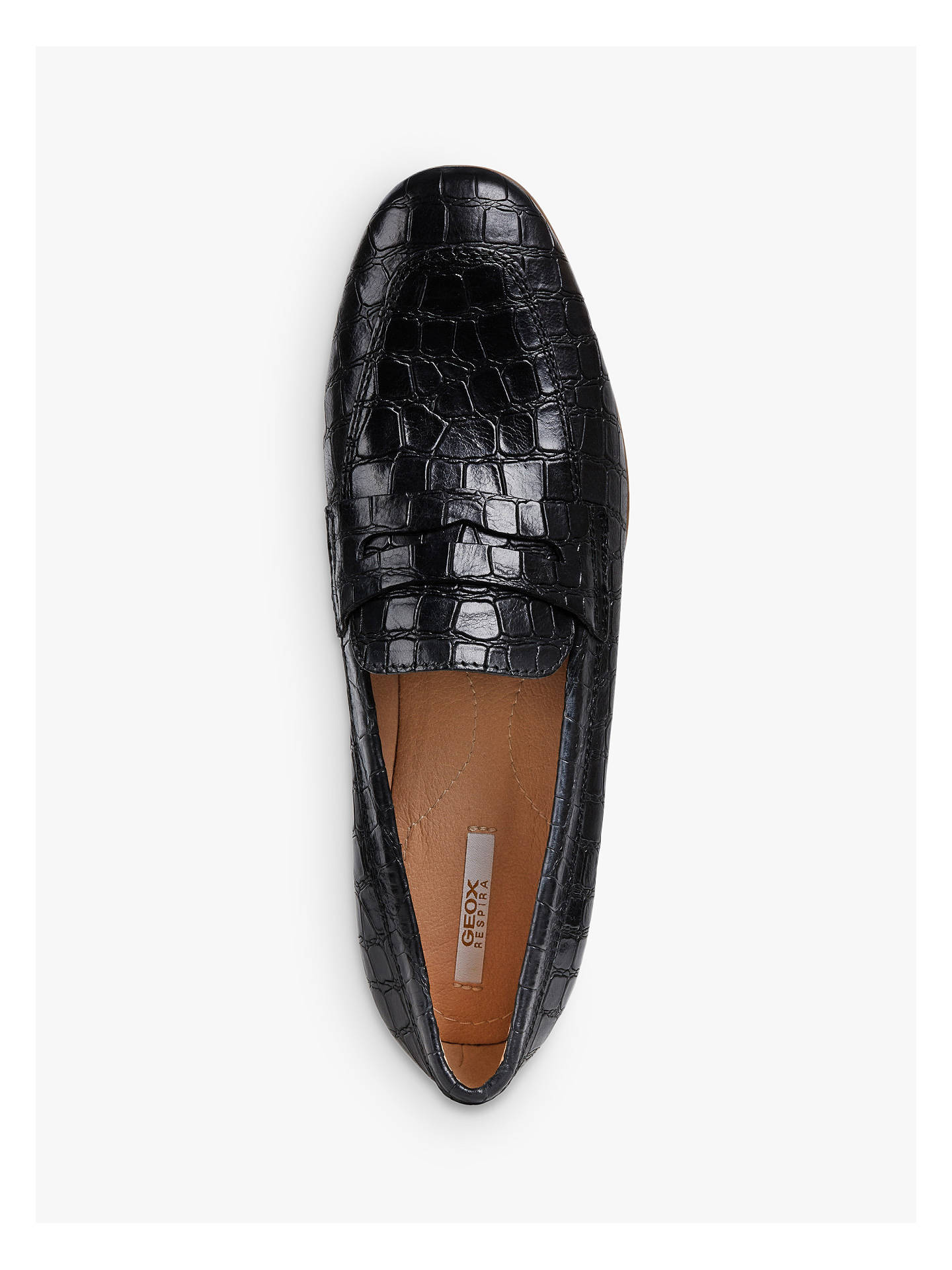diámetro A bordo dominar  Geox Women's Marlyna Loafers at John Lewis & Partners