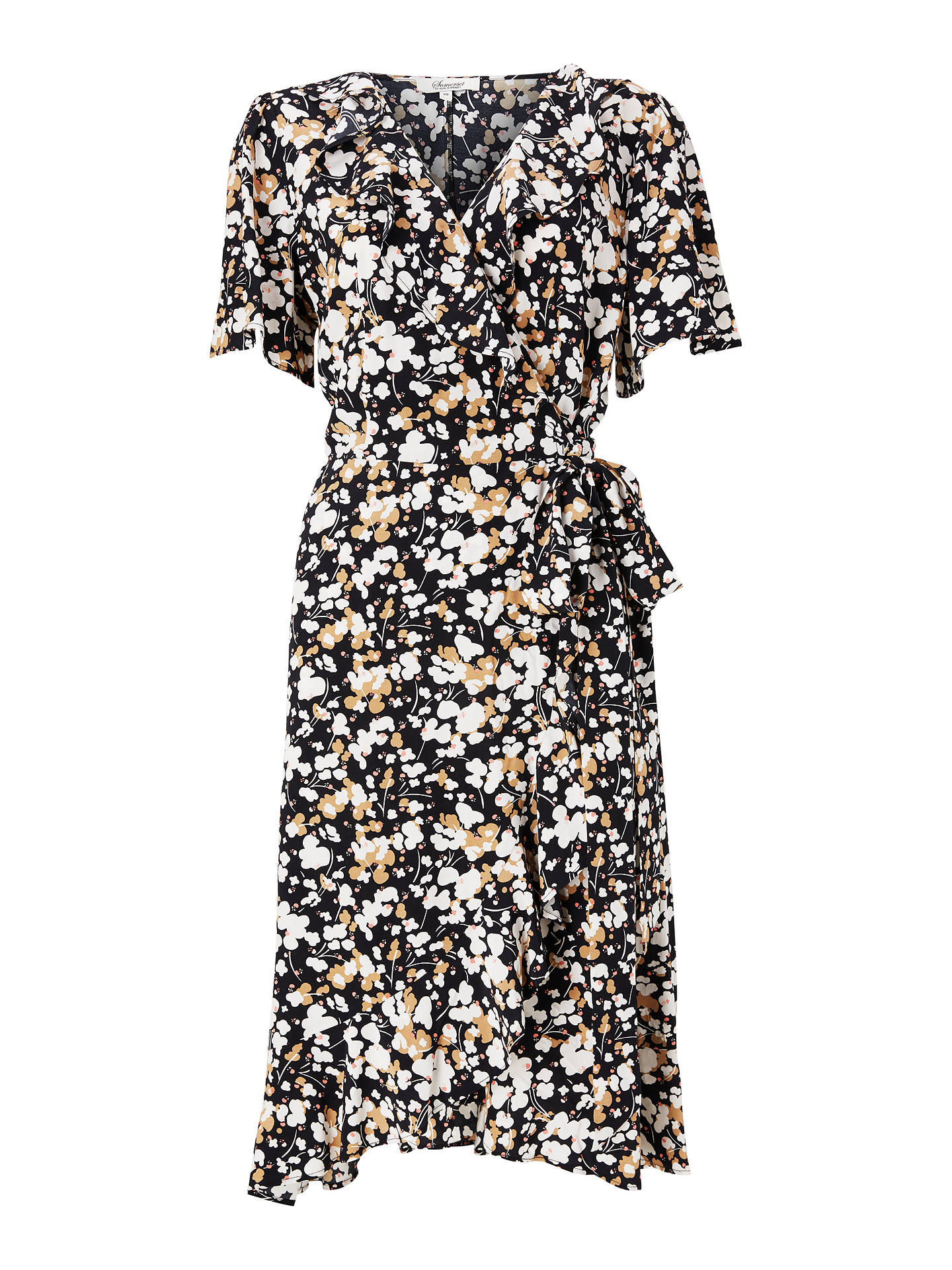 f50c7ffd373d ... Buy Somerset by Alice Temperley Dapple Apple Wrap Dress, Neutral, 10  Online at johnlewis ...